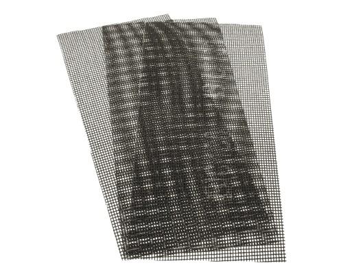 Сетка абразивная РемоКолор карбид кремния, на стекловолоконной сеточной основе, Р180, 115х280мм (3 шт./уп.)