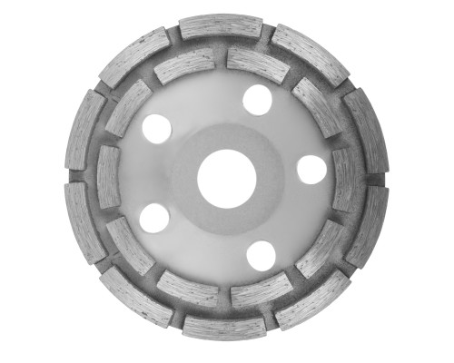 Алмазная чашка РемоКолор ⌀ 125 мм, двурядная