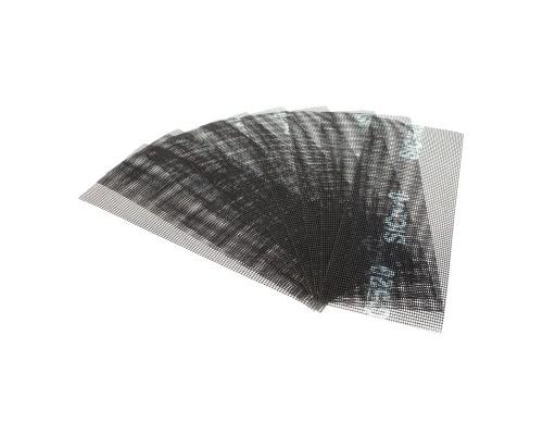 Сетка абразивная РемоКолор карбид кремния, на стекловолоконной сеточной основе, Р320, 105х280мм (10 шт./уп.)