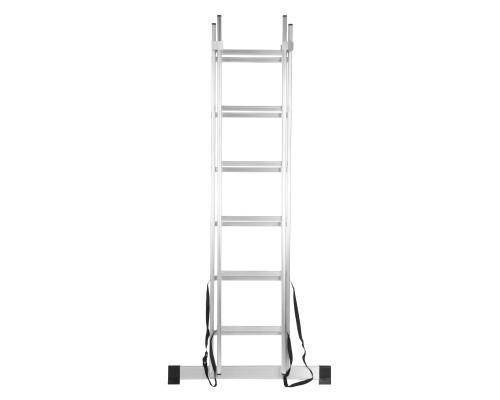 Лестница 2-секционная алюминиевая РемоКолор 6 ступеней