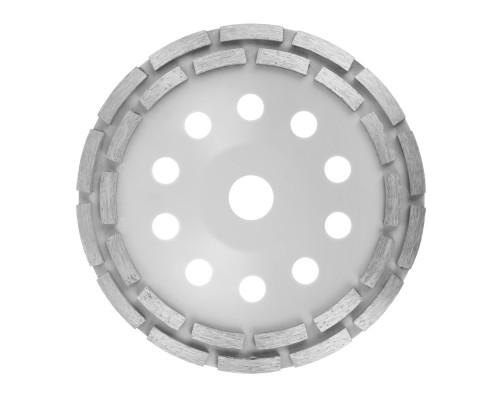Алмазная чашка РемоКолор ⌀ 180 мм, двурядная