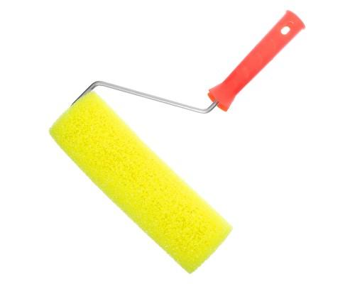 Валик декоративный РемоКолор Шероховатый 240 мм, ⌀ 30 мм, толщина пены 25 мм, ось 6 мм