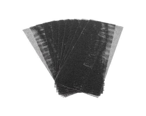 Сетка абразивная РемоКолор карбид кремния, на стекловолоконной сеточной основе, Р80, 105х280мм (10 шт./уп.)