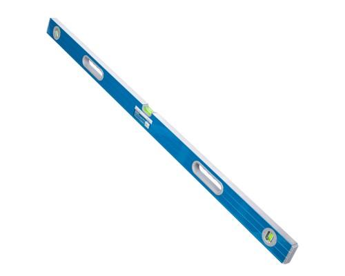 Уровень РемоКолор 1200 мм, усиленный алюминиевый профиль, 2 фрезерованные грани, 2 ручки, 2 глазка+поворотный на 360°
