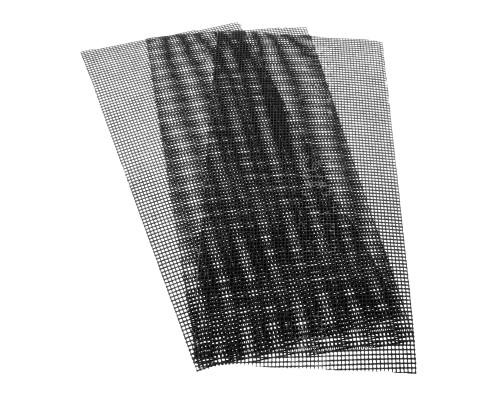 Сетка абразивная РемоКолор карбид кремния, на стекловолоконной сеточной основе, Р200, 115х280мм (3 шт./уп.)