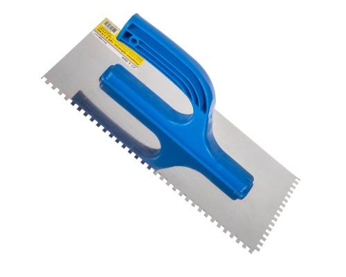 Гладилка зубчатая РемоКолор 270x130 мм, зуб 4х4 мм