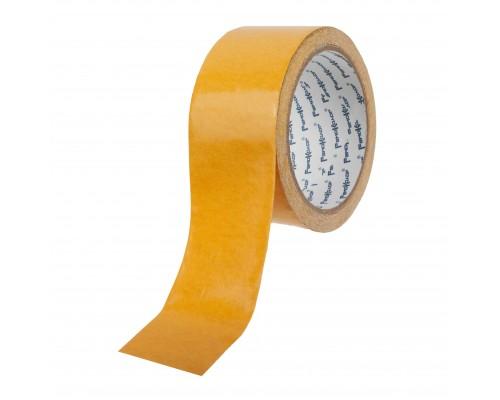 Лента клейкая РемоКолор двухсторонняя, полипропиленовая основа, клей - синтетический каучук, 48 мм х 10 м