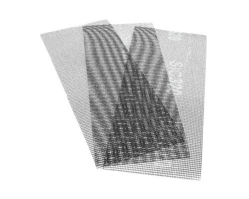 Сетка абразивная РемоКолор карбид кремния, на стекловолоконной сеточной основе, Р320, 115х280мм (3 шт./уп.)