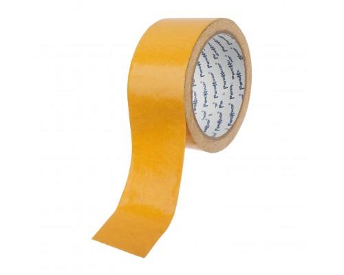 Лента клейкая РемоКолор двухсторонняя, тканевая основа, клей - синтетический каучук, 48 мм х 5 м