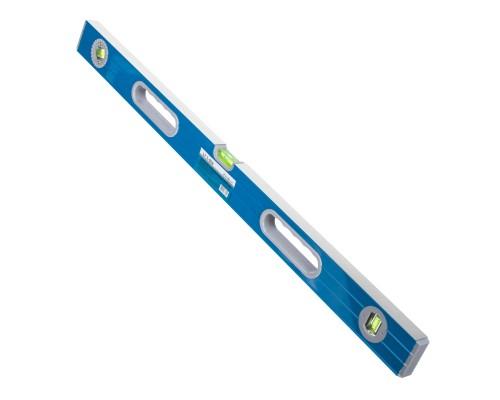 Уровень РемоКолор 800 мм, усиленный алюминиевый профиль, 2 фрезерованные грани, 2 ручки, 2 глазка+поворотный на 360°