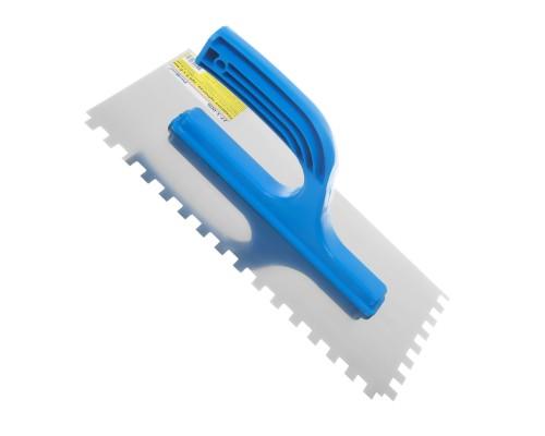 Гладилка зубчатая РемоКолор 270x130 мм, зуб 6х6 мм