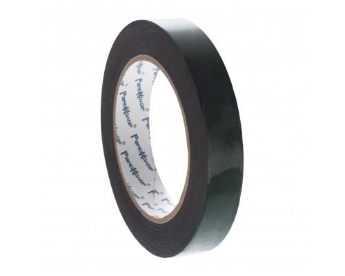 Лента клейкая РемоКолор монтажная, на черной основе, двухсторонняя, вспененная, 12 мм х 5 м