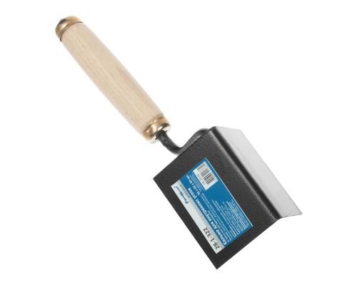 Кельма для внутренних углов РемоКолор 80х60х60 мм, деревянная усиленная рукоятка