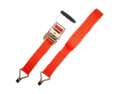 Ремень крепления груза РемоКолор с крюками, с храповым механизмом 196 мм, 0,05 х 12 м
