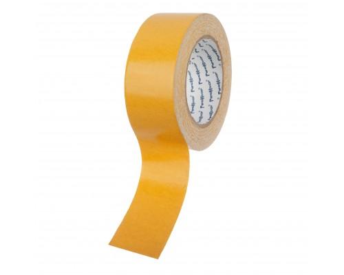 Лента клейкая РемоКолор двухсторонняя, тканевая основа, клей - синтетический каучук, 48 мм х 25 м