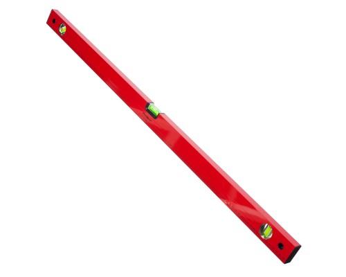 Уровень РемоКолор Red 1000 мм, алюминиевый коробчатый корпус, фрезерованная грань, 3 акриловых глазка