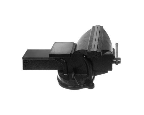 Тиски РемоКолор слесарные, поворотные, с наковальней, 200 мм