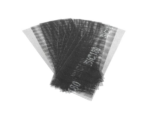 Сетка абразивная РемоКолор карбид кремния, на стекловолоконной сеточной основе, Р180, 105х280мм (10 шт./уп.)