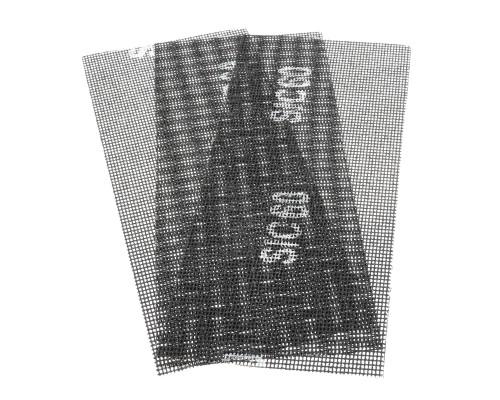 Сетка абразивная РемоКолор карбид кремния, на стекловолоконной сеточной основе, Р60, 115х280мм (3 шт./уп.)