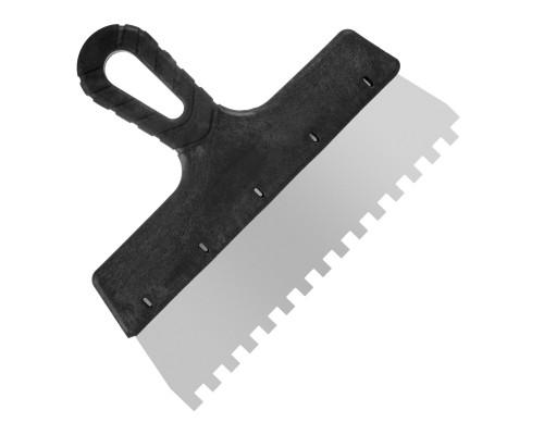 Зубчатый шпатель РемоКолор Мастер 250 мм, зуб 8х8 мм
