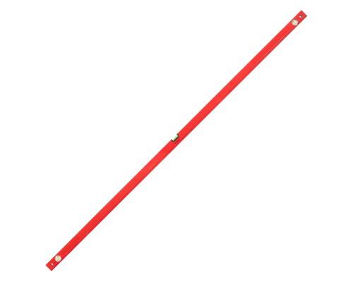Уровень РемоКолор Red 2000 мм, алюминиевый коробчатый корпус, фрезерованная грань, 3 акриловых глазка