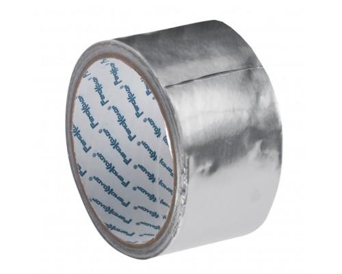 Лента клейкая РемоКолор алюминиевая, клей - акрил, основа - алюминиевая фольга, 48 мм х 10 м