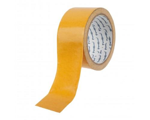 Лента клейкая РемоКолор двухсторонняя, полипропиленовая основа, клей - синтетический каучук, 48 мм х 5 м