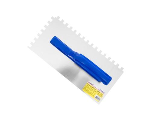 Гладилка зубчатая РемоКолор 270x130 мм, зуб 8х8 мм