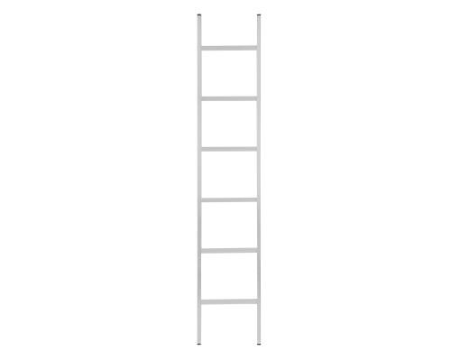 Лестница 1-секционная алюминиевая РемоКолор 6 ступеней