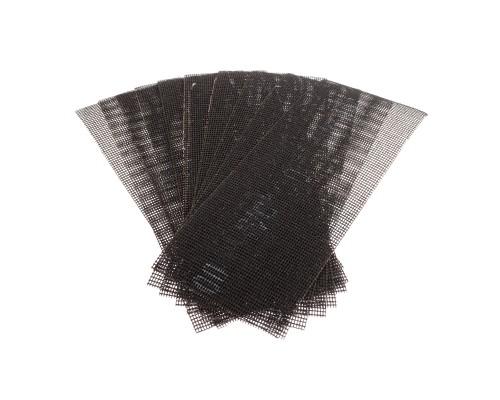 Сетка абразивная РемоКолор карбид кремния, на стекловолоконной сеточной основе, Р100, 105х280мм (10 шт./уп.)