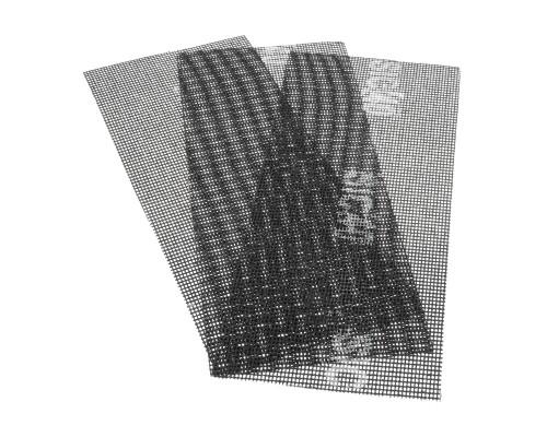 Сетка абразивная РемоКолор карбид кремния, на стекловолоконной сеточной основе, Р40, 115х280мм (3 шт./уп.)