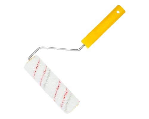 Валик малярный РемоКолор Мультиколор 180 мм, ⌀ 40 мм, ворс 12 мм, ось 6 мм
