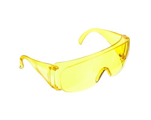 Очки защитные РемоКолор открытого типа, желтые