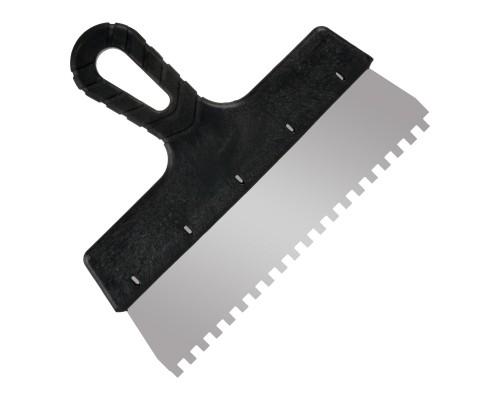 Зубчатый шпатель РемоКолор Мастер 250 мм, зуб 6х6 мм