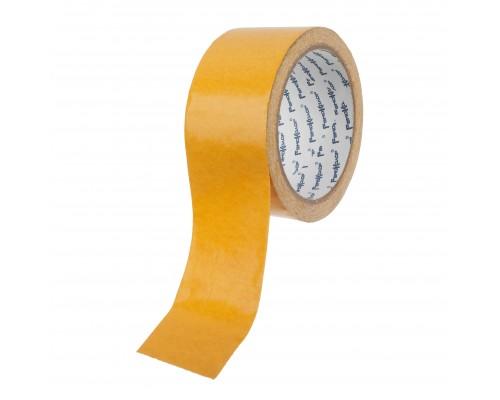 Лента клейкая РемоКолор двухсторонняя, тканевая основа, клей - синтетический каучук, 48 мм х 10 м